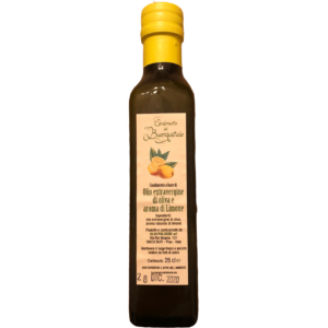 Olivenöl – Olio extra Vergine e aroma di Limone